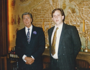 With Claude Terrail