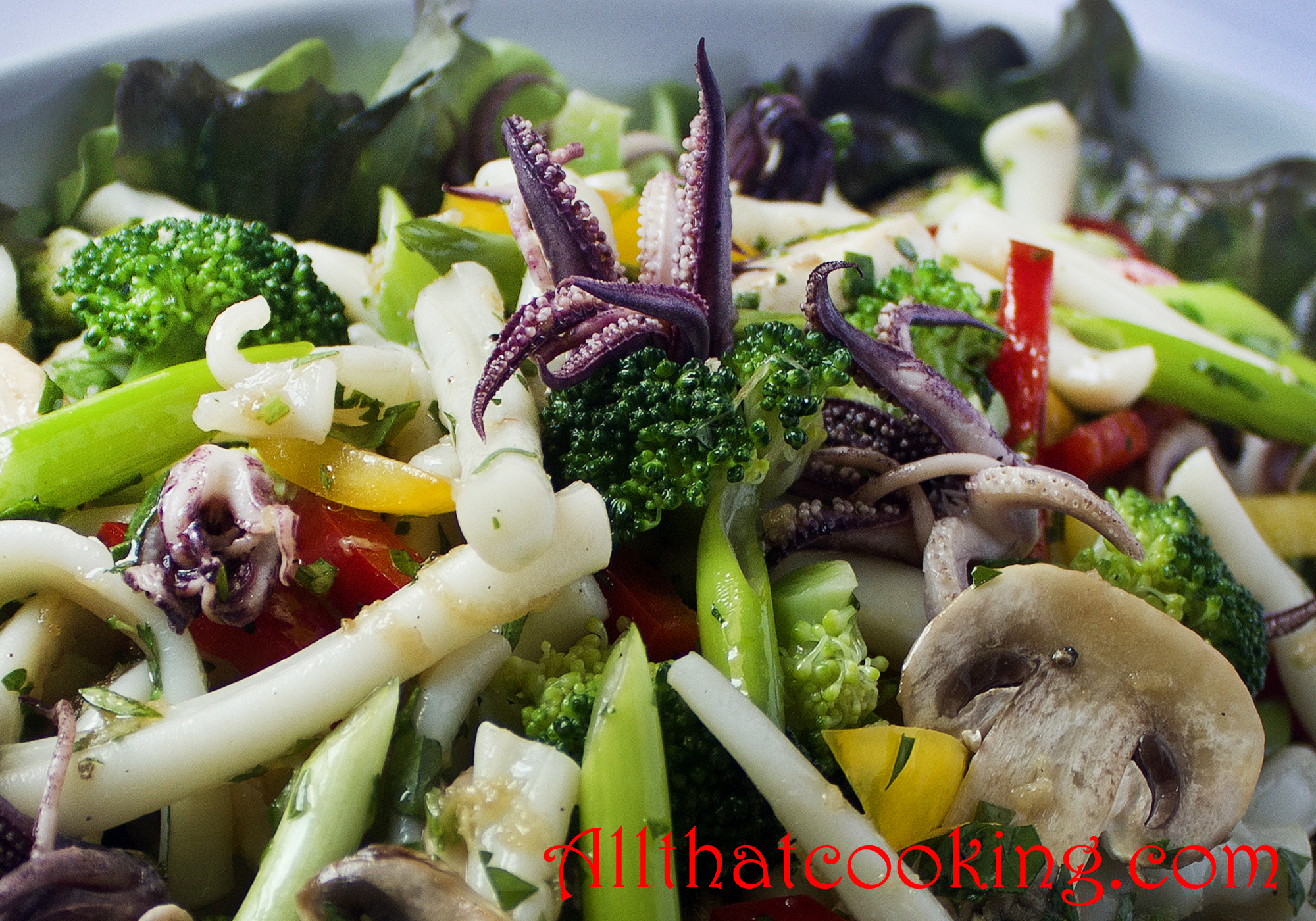 Calamari Salad | All That Cooking