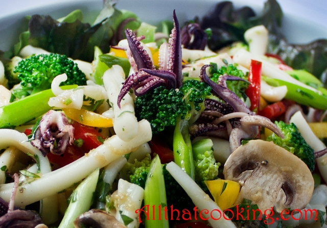 Squid salad 2