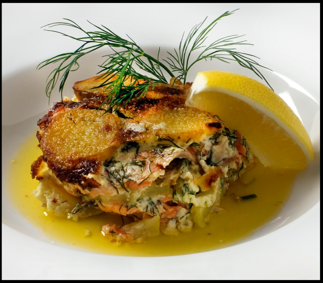 Salmon Pudding 1