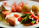 Warm smoked salmon dish1